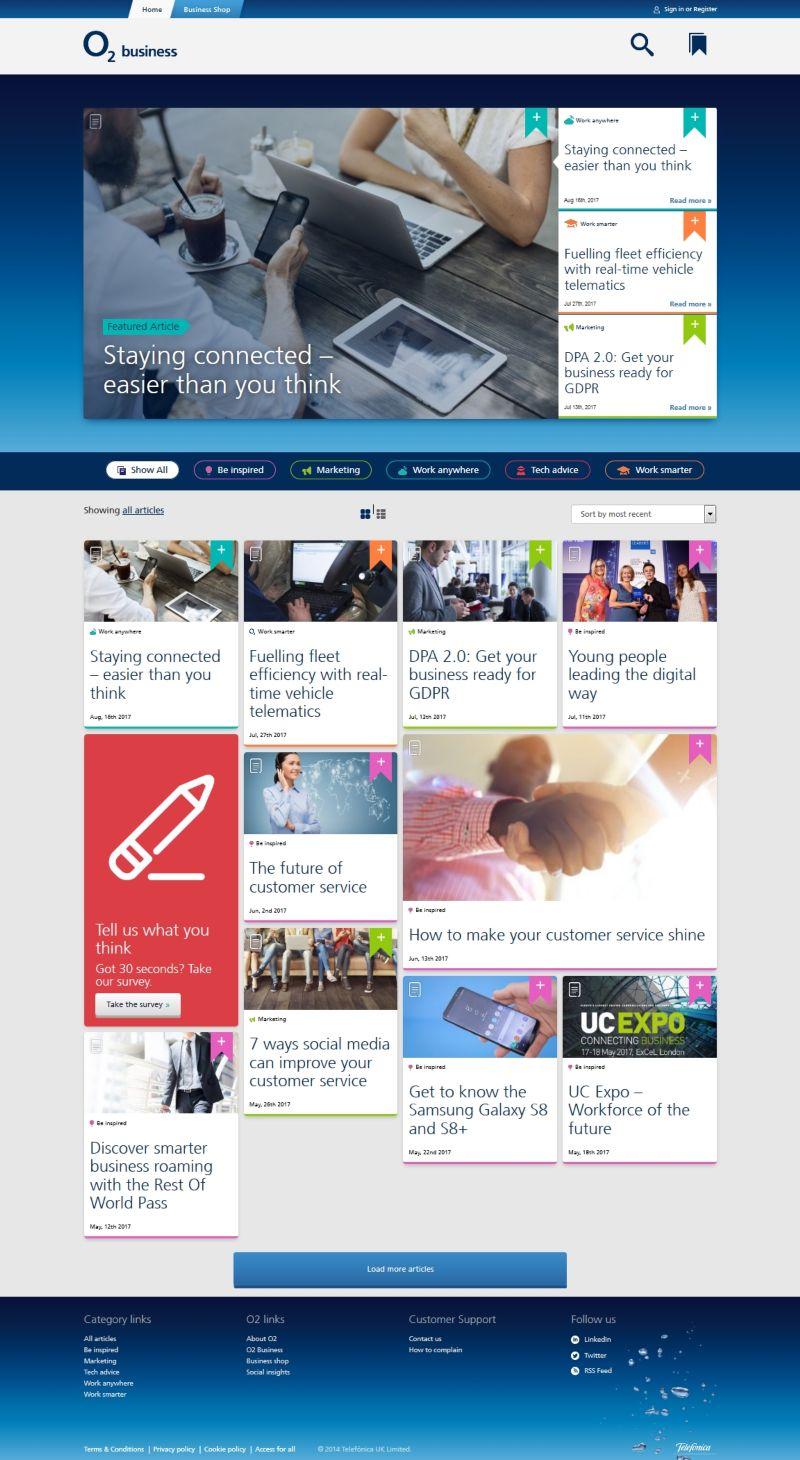 O2 Business blog