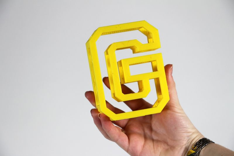 BEAM 3D printed typeface