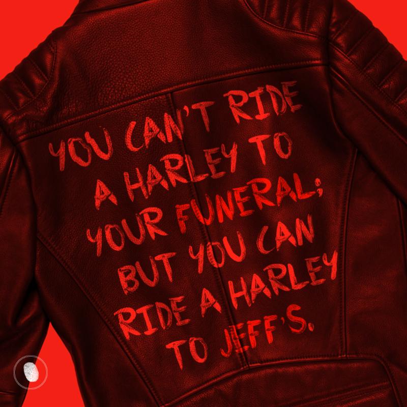 Ride it before you kick it — Harley Davidson