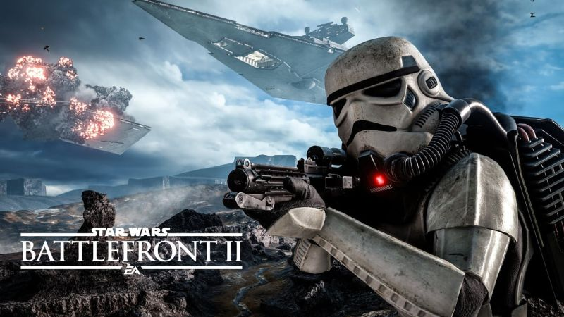 Star Wars Battlefront 2: @ Gamescom 2017