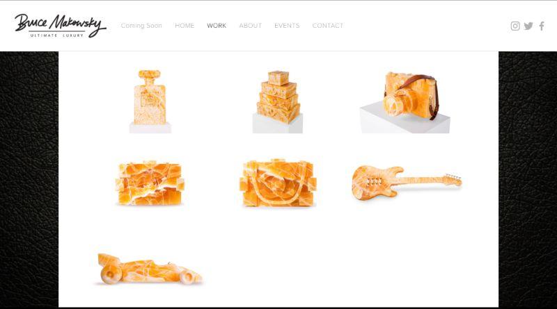Honey Onyx Stone Sculptures