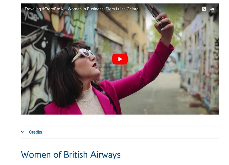 British Airways: Women in Business #FromBtoA