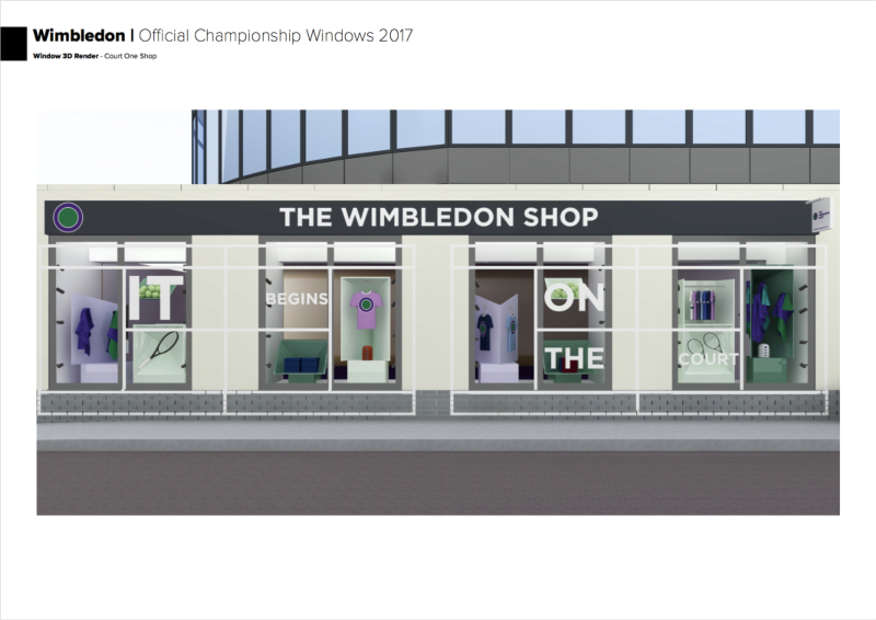 The Championships, Wimbledon - 2017 Window Scheme