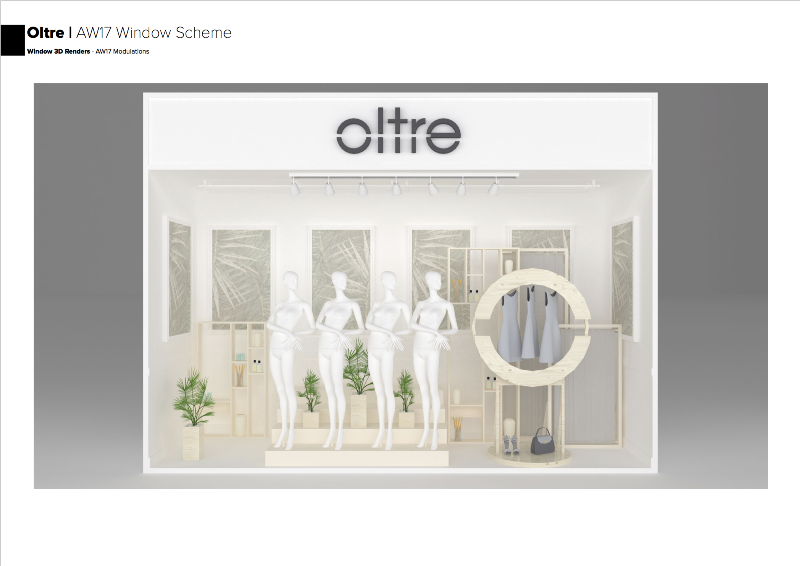 Oltre - AW17 Window Scheme