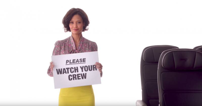 British Airways Safety Video with Comic Relief