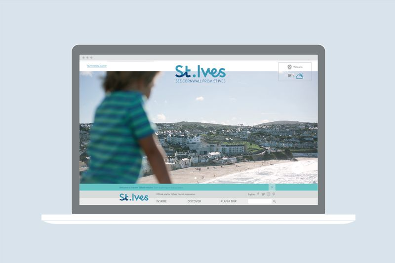 St Ives destination website, 2017