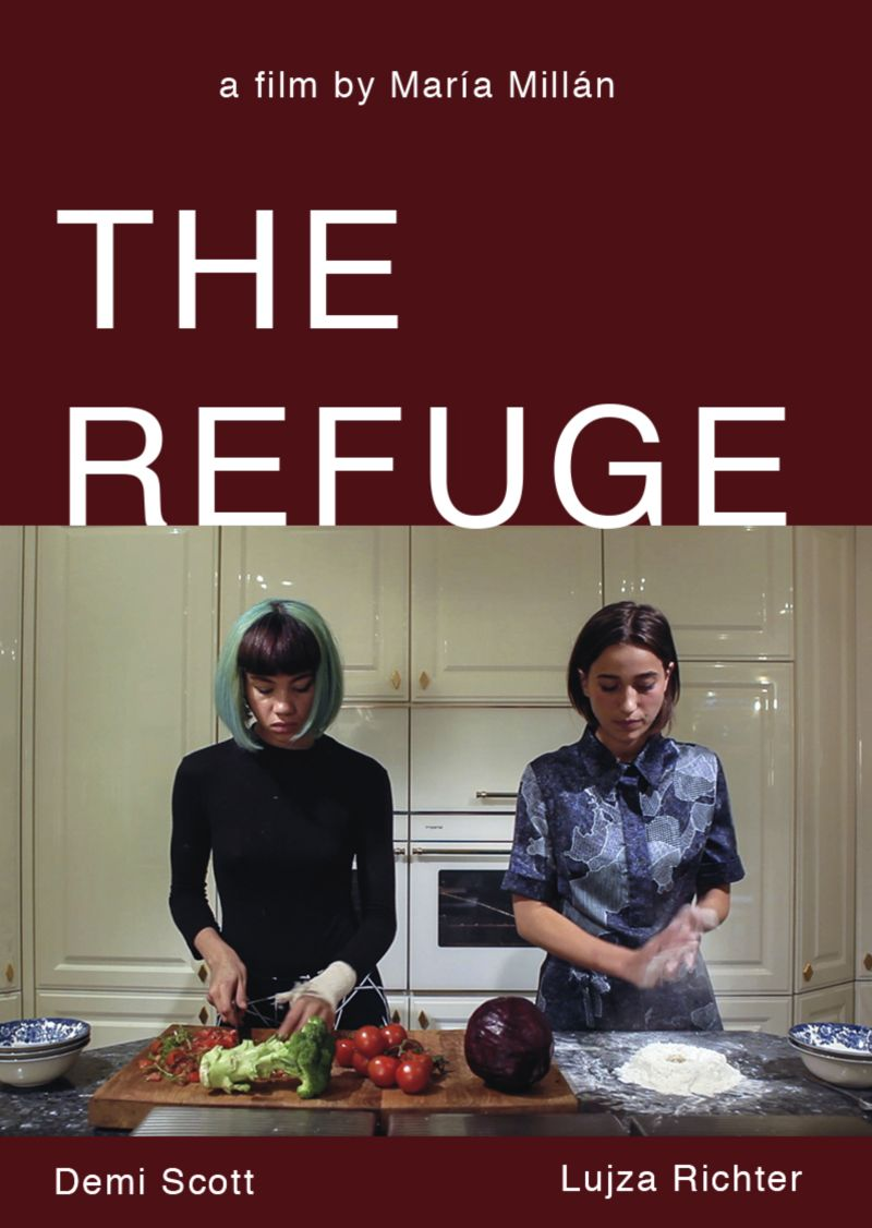 The Refuge, a film by Maria Millan featuring Demi Hannah Scott