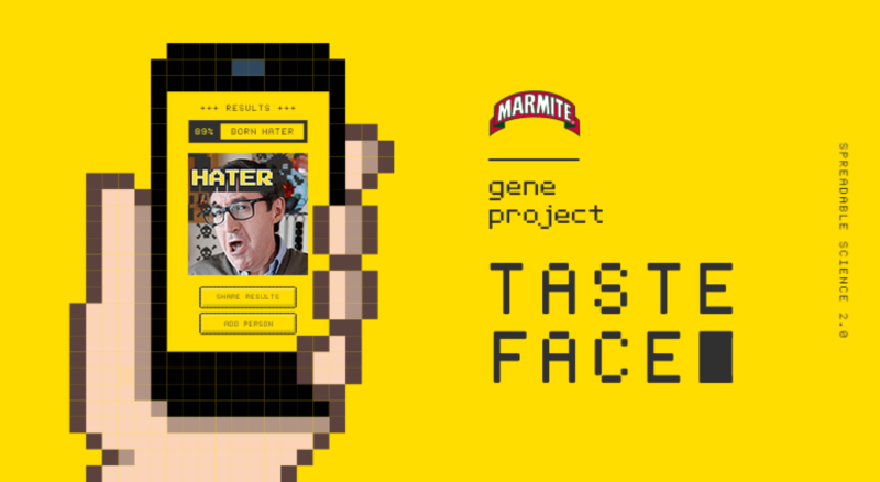 Are you born a lover or a hater? Find out with Marmite TasteFace
