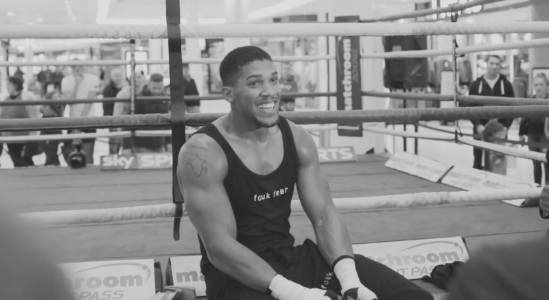 Anthony Joshua X French Connection