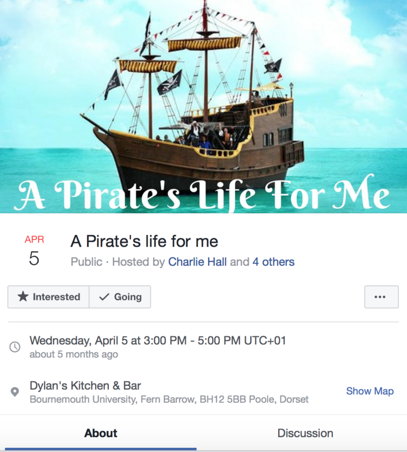 """"""" A Pirate's Life For Me"""""""