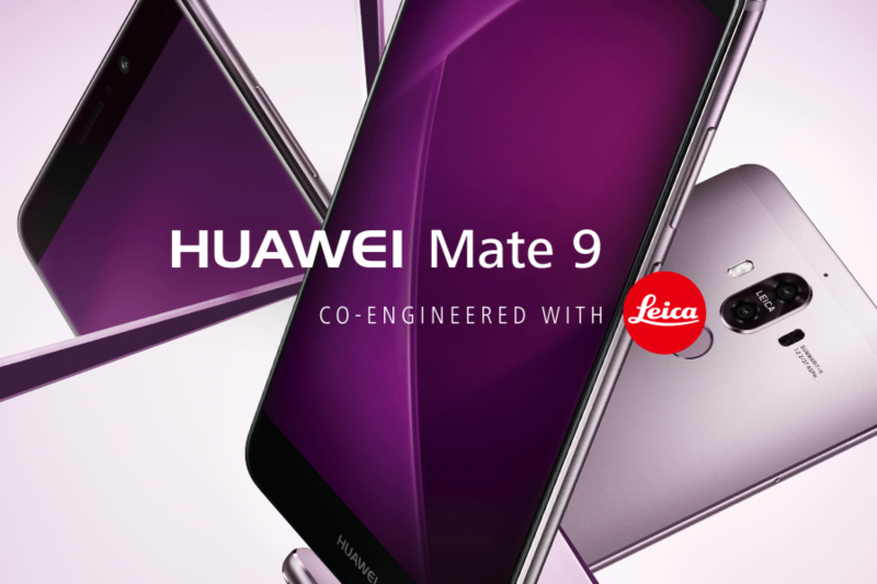 Huawei Mate 9 Series Launch