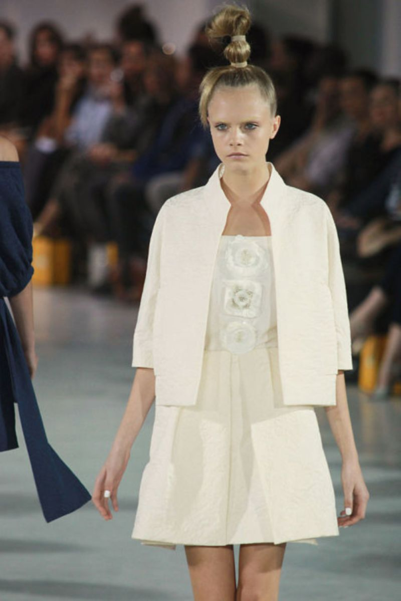 LONDON FASHION WEEK: A LOOK BACK IN TIME