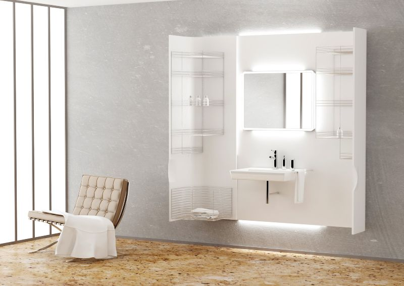 Drevojas, v. d. - Design of Bathroom