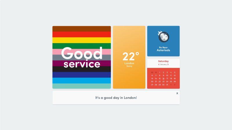 Good Day Dashboard