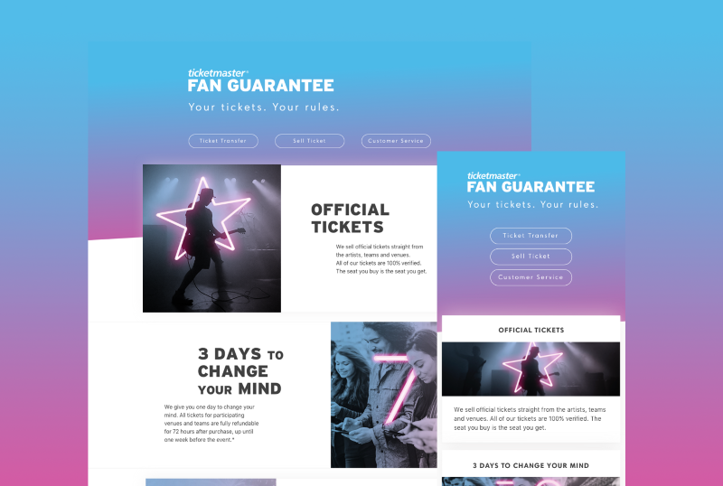 Ticketmaster Jobs & Projects | The Dots