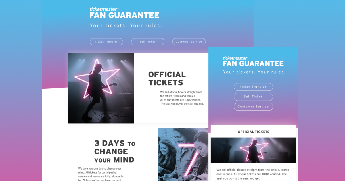 Fan Guarantee Page | The Dots