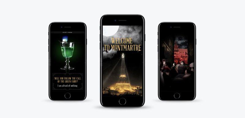 Secret Cinema: Moulin Rouge FB Canvas Ad