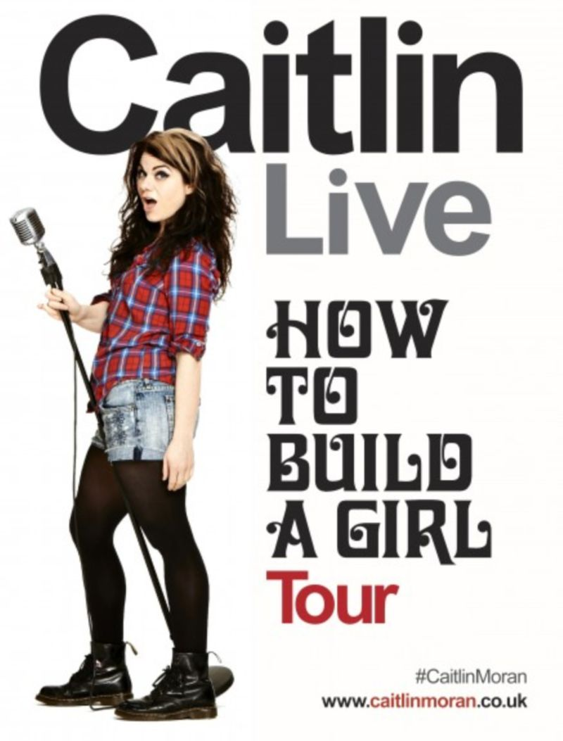 10-date 'How To Build A Girl' tour with Caitlin Moran