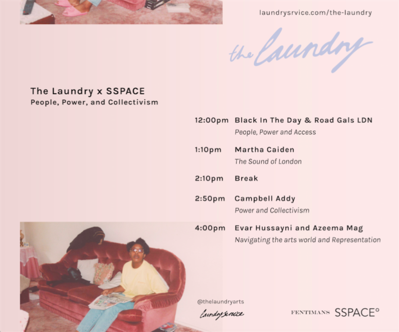 The Laundry x SSPACE° | People, Power and Collectivism