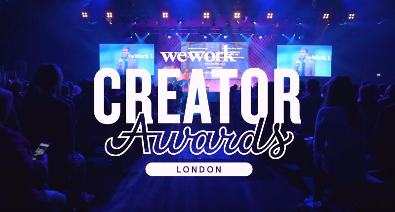 WeWork Creator Awards 2017, London