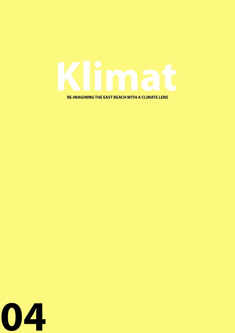 Klimat: Re-imagining the eastern beach with a climate lens.