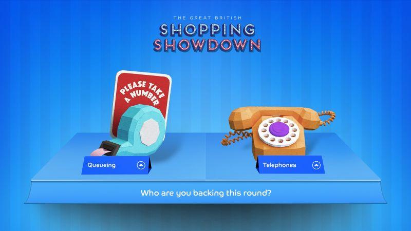 Shopping Showdown