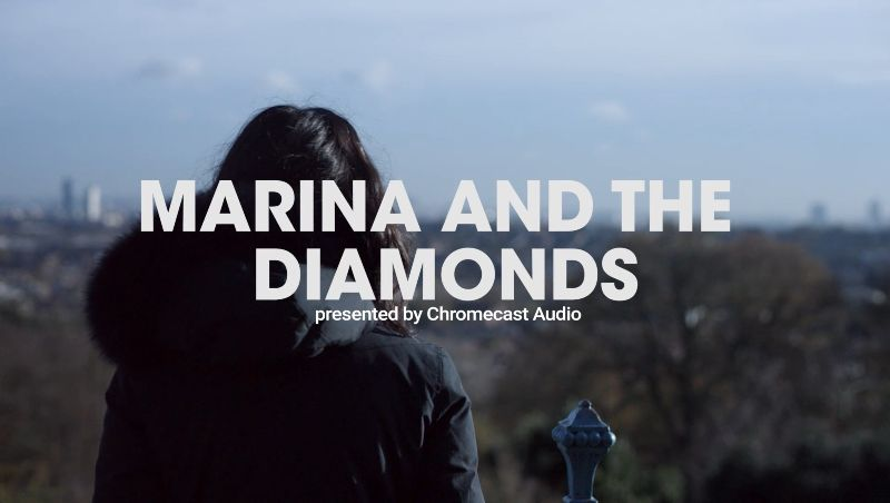 Google Chromecast x Marina and the Diamonds #CastYourSound