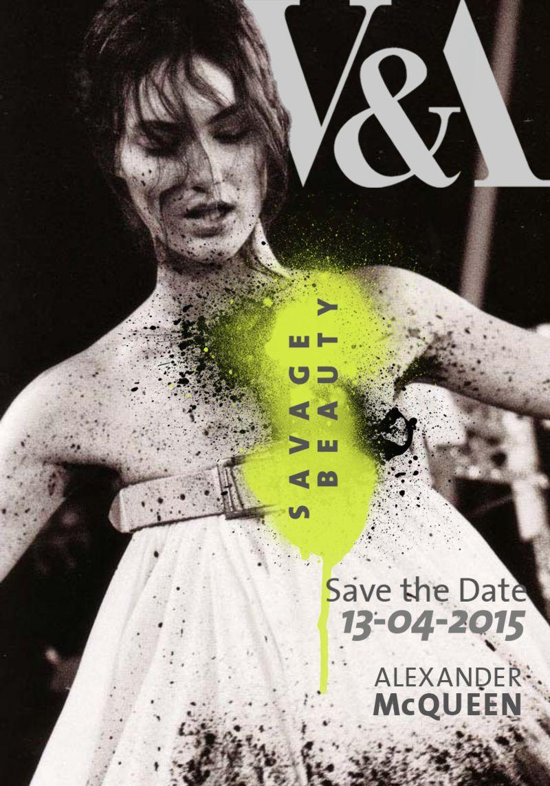 Design Identity - Savage Beauty (Alexander Mcqueen)