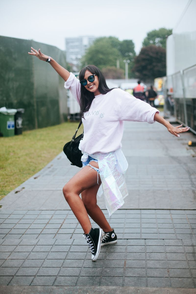 Converse:  Festival Street Style