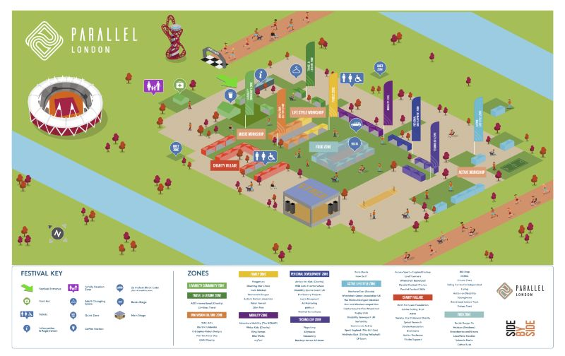 Parallel 2017 Festival Map