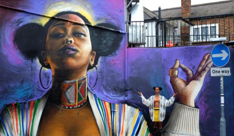 Huck Magazine: Why giant murals of black women are popping up across London, 'You Are Enough'