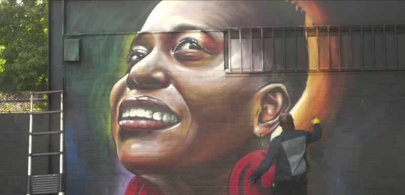 Channel 4: Empowering women through street art