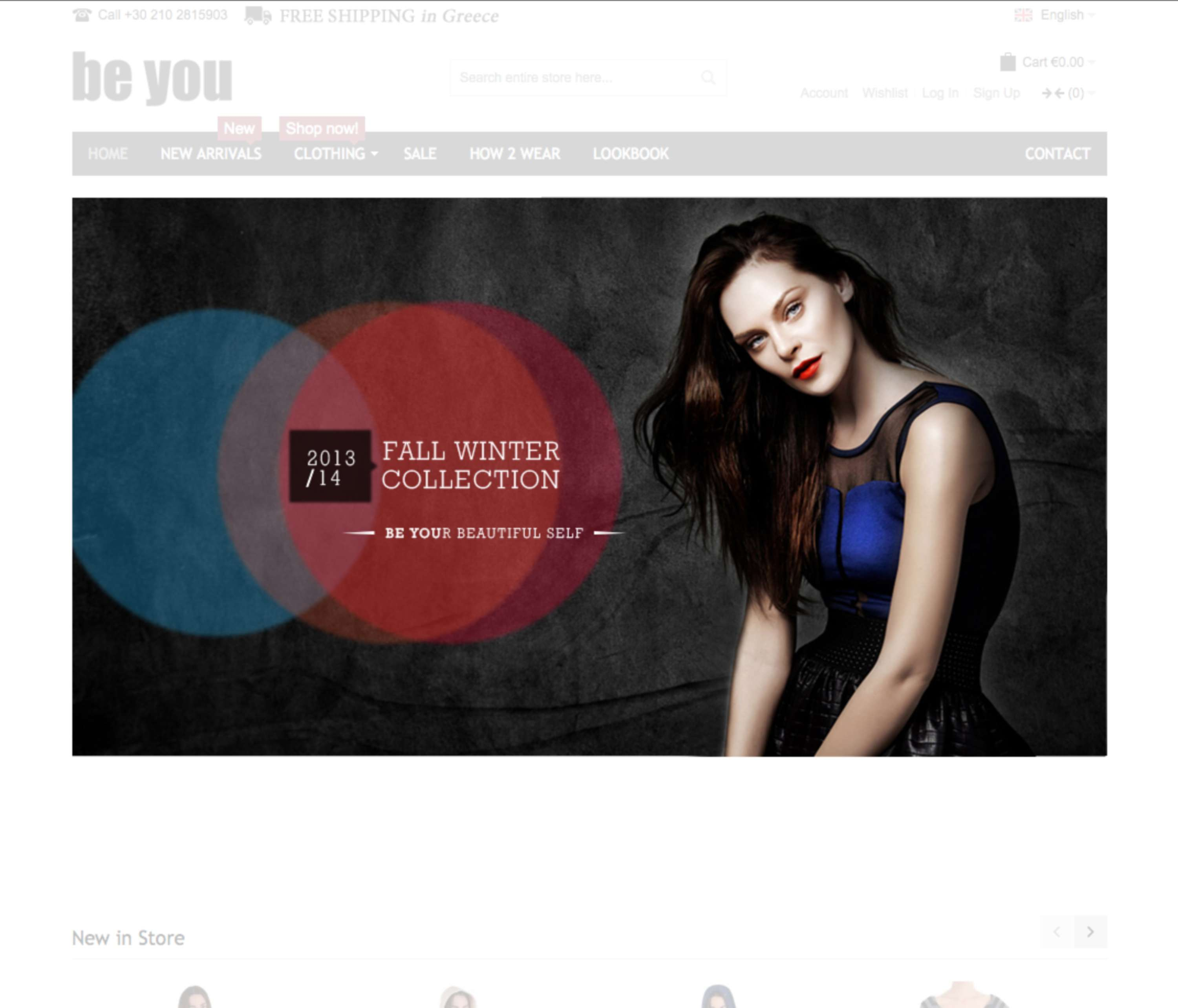 be you fashion web design creative banners the dots
