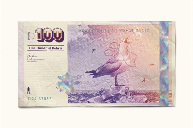 Tony Wilson Illustrates Bank notes for Trash Isles