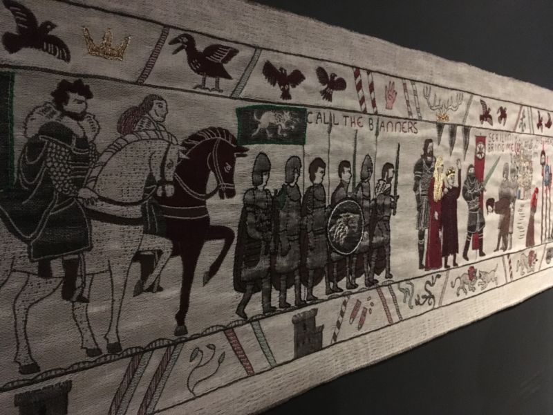 Behind the Scenes: A trip to the Game of Thrones Tapestry