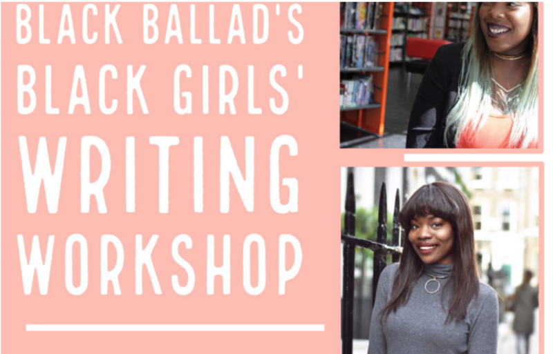 Black Ballad's Black Girls' Writing Workshop