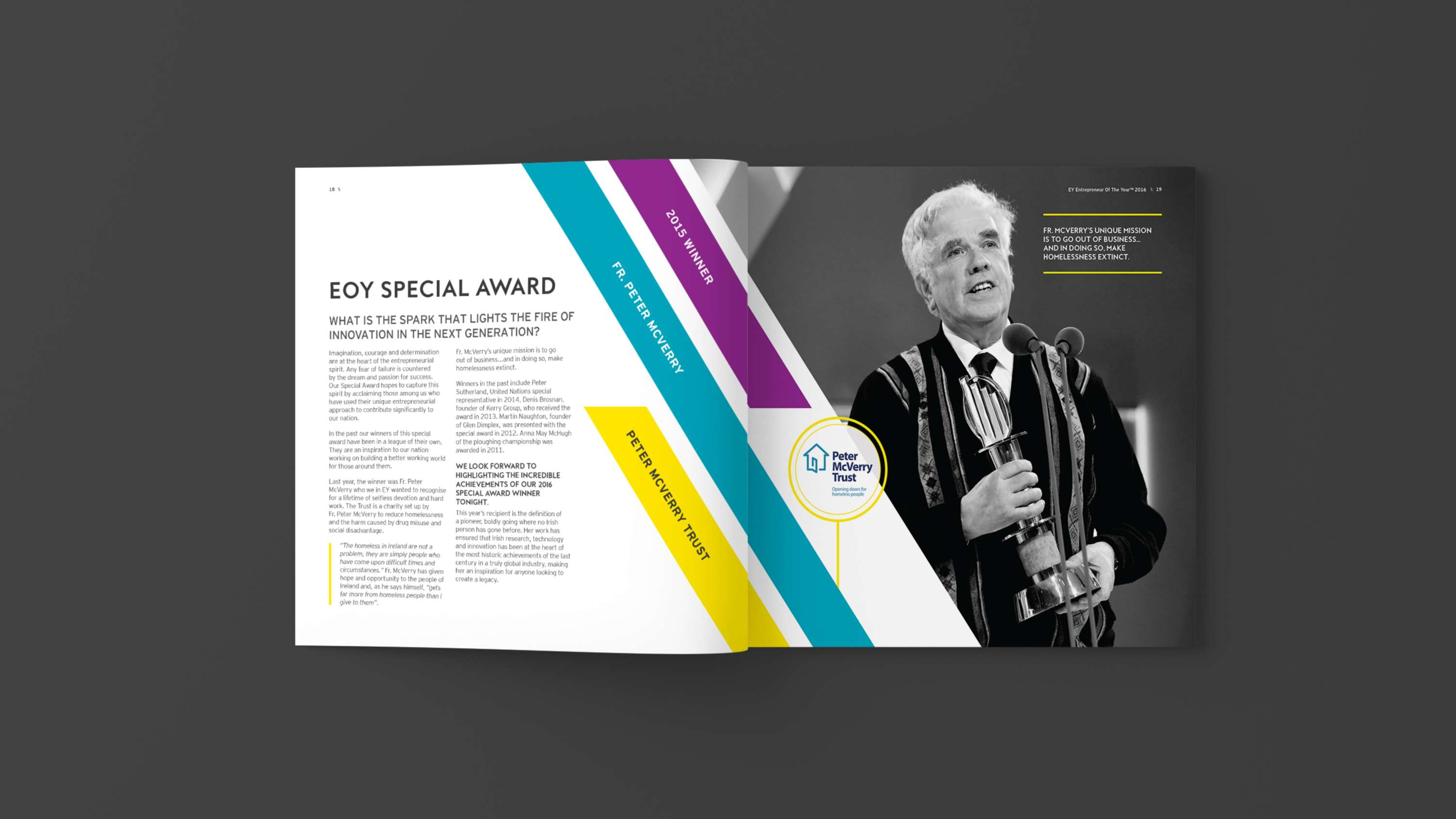 EY Entrepreneur Of The Year Awards Brochure (2016) | The Dots