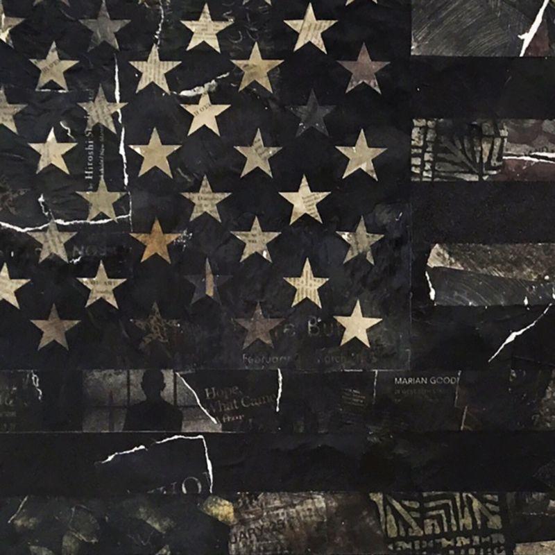 American Flag - Black