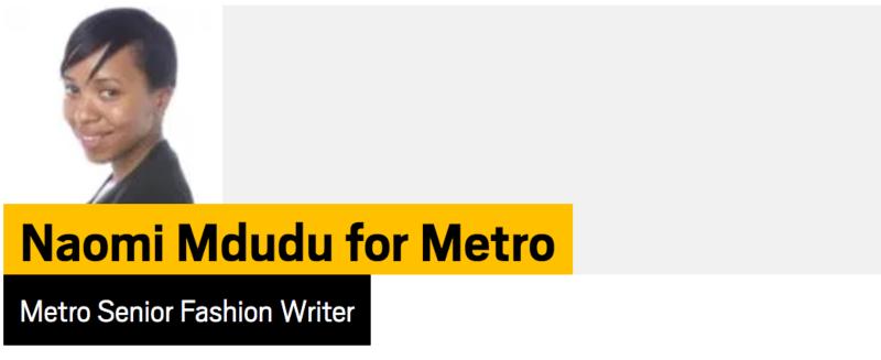 Naomi Mdudu for Metro