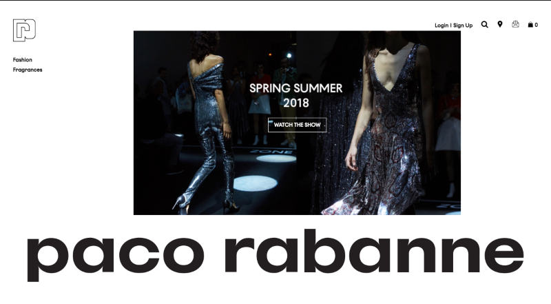 Paco Rabanne E-commerce