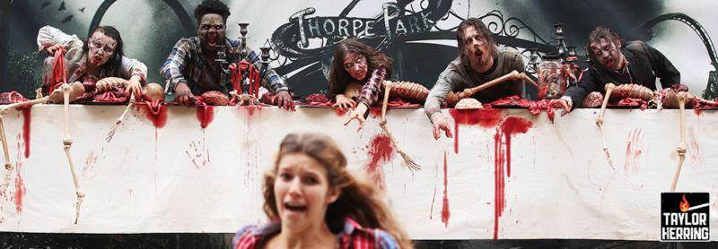 Thorpe Park: Living Dead Billboard