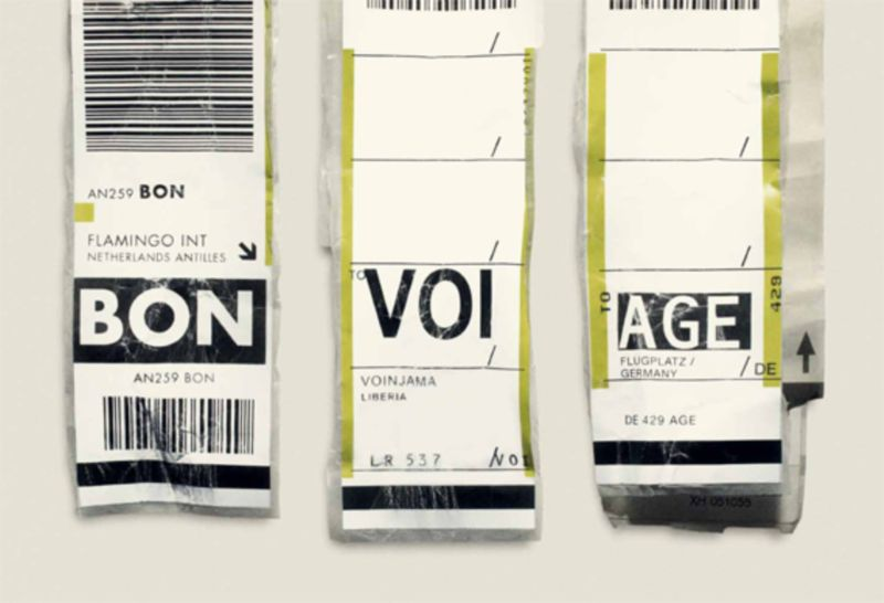 Expedia Luggage Labels