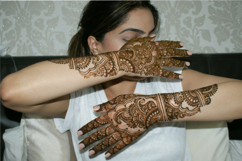Henna Artist Logo And Design Work The Dots