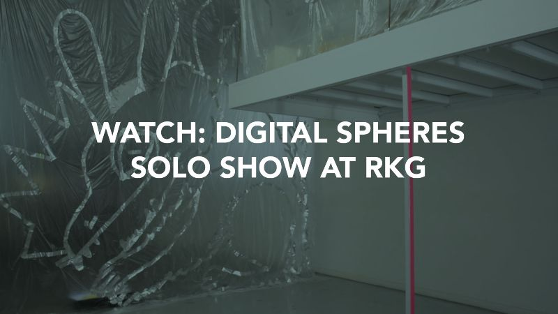 Digital Spheres - Solo Show at Robert Kananaj Gallery