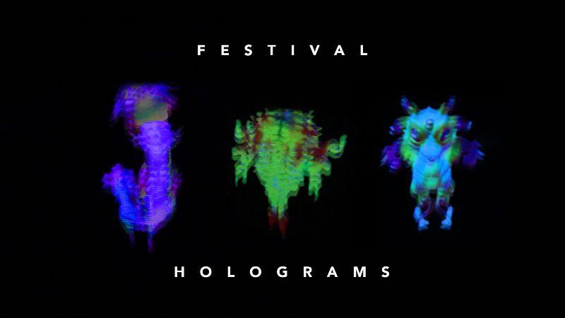 3D Festival Holograms