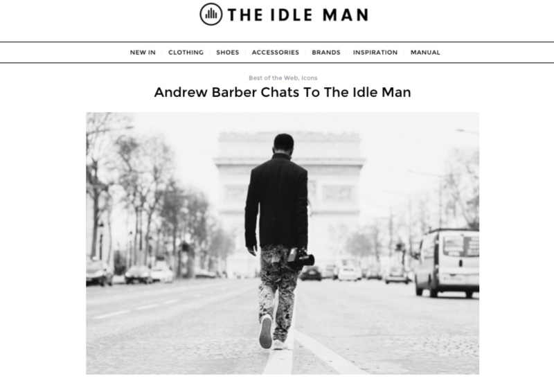 Andrew Barber Chats To The Idle Man