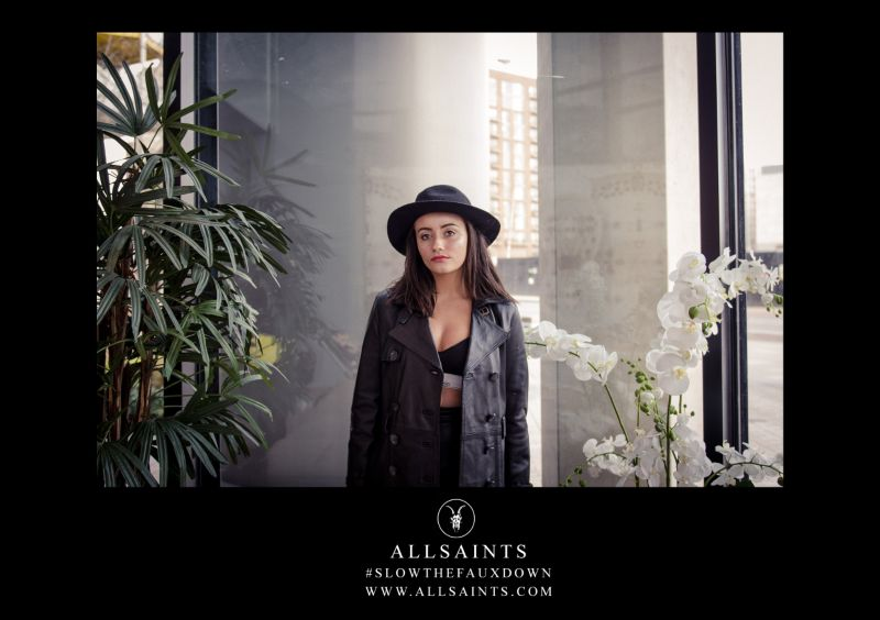 AllSaints Based Promotional Campaign (University Project) 2017