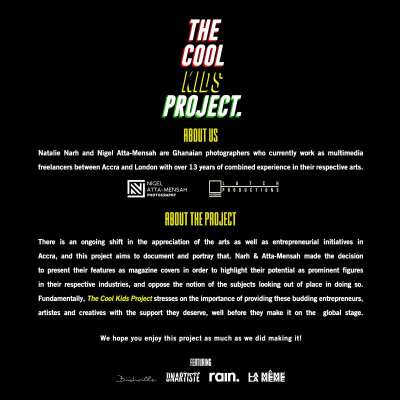 THE COOL KIDS PROJECT