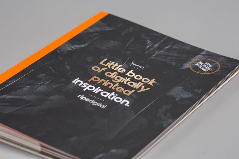 Client: Ripe Digital Project: Little book of digitally printed inspiration.