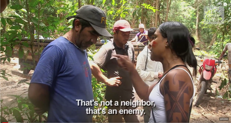 Illegal Loggers - The Tribe Waging War in the Amazon